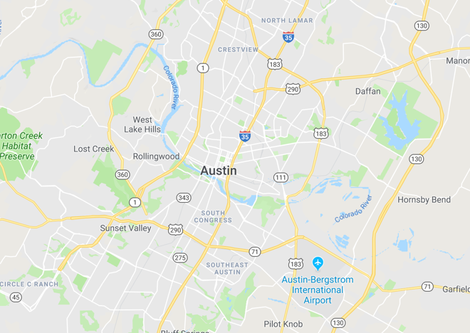 All neighborhoods in Austin