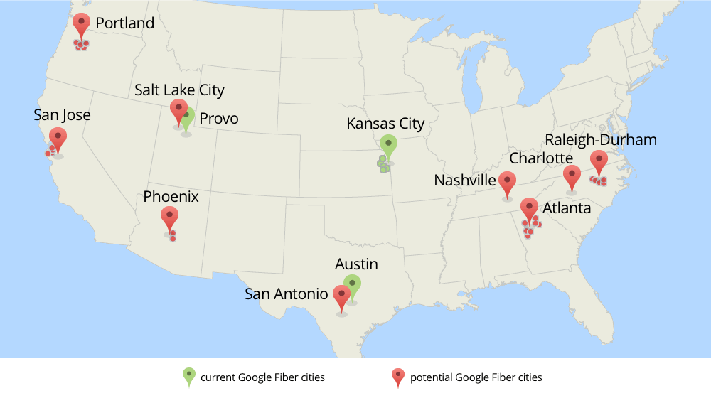 Expansion Plans  Google Fiber