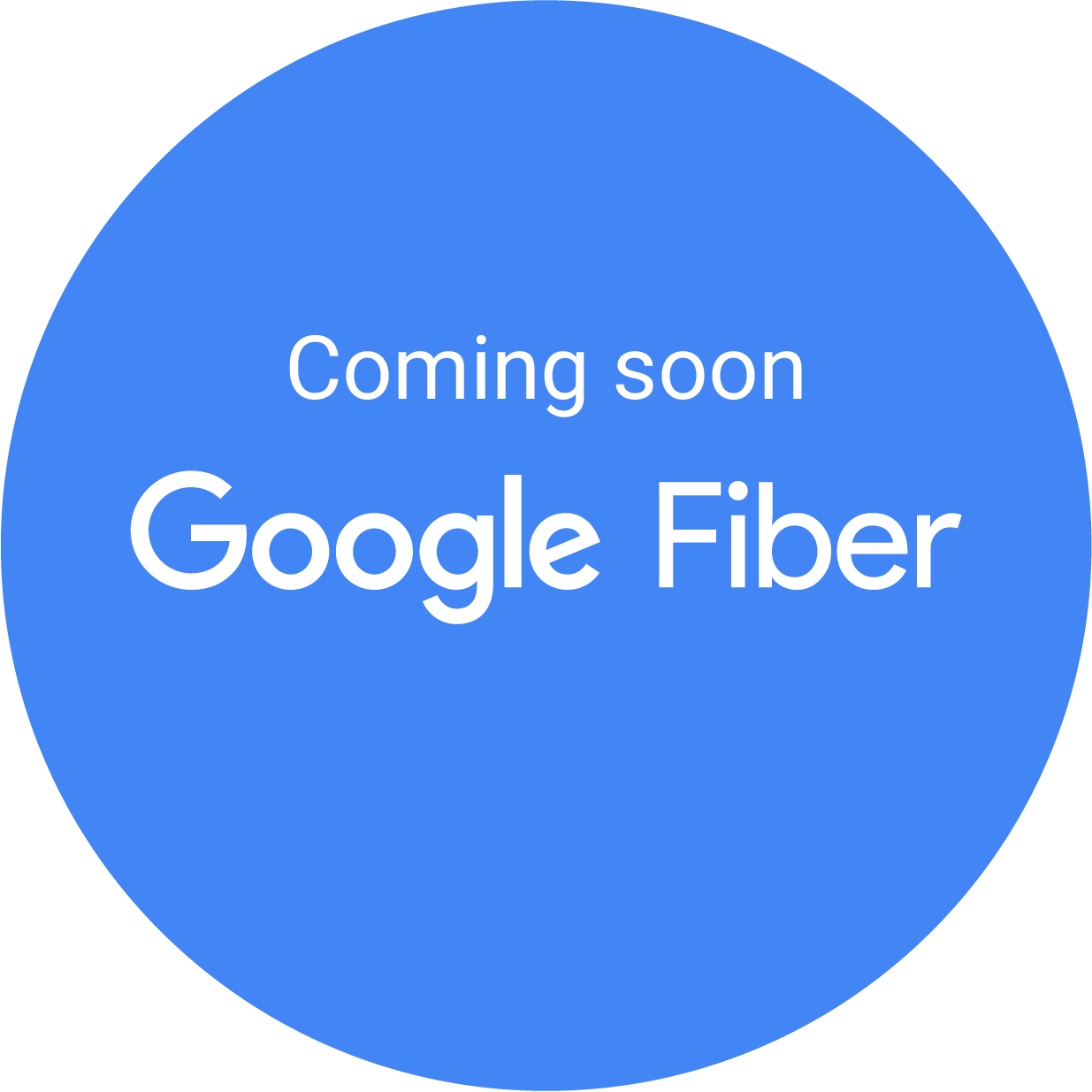 Coming soon: Google Fiber badge