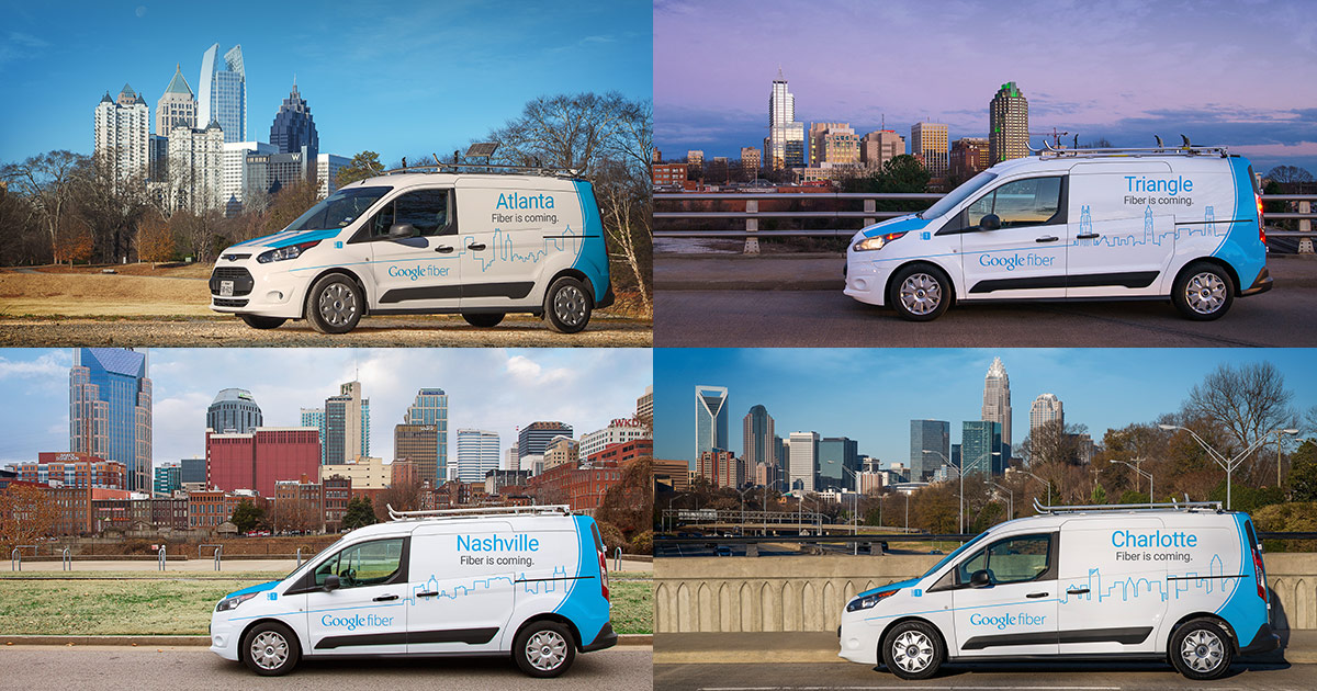 Google Fiber Cities & Locations | Coverage Map